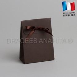 Pochon à dragées chocolat