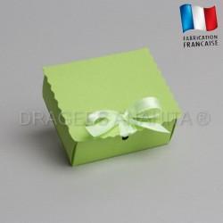 Ecrin à dragées vert