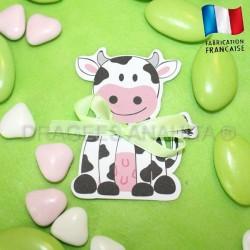 Etiquette vache