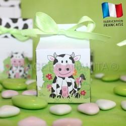Cube vache pour dragées