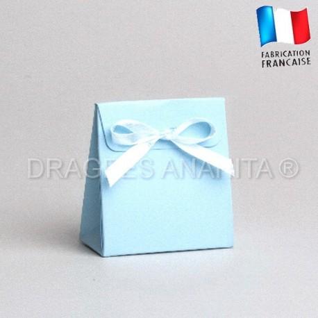 Mini pochon bleu ciel