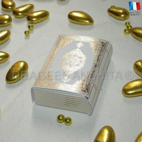 Mini Coran Blanc et Argent