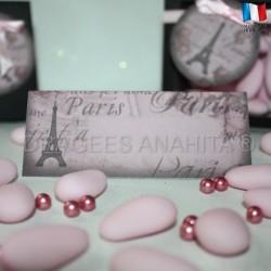 Marque place thème Paris