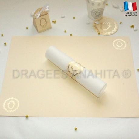 Set de table mariage Oriental