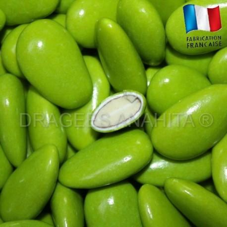 Dragées Amande vert 43% amande