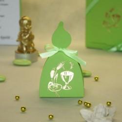 Contenant Calice vert bougie