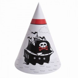 Chapeau pirate X 6