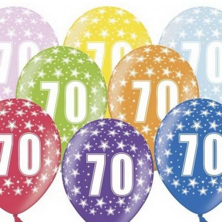 Ballon Gonflable 70 ème Anniversaire