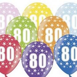 Ballon Gonflable 80 ème Anniversaire