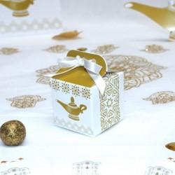 Petit cube à dragées Lampe Aladdin