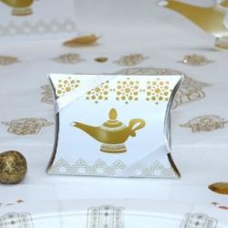 Pochette à dragées lampe d'Aladdin