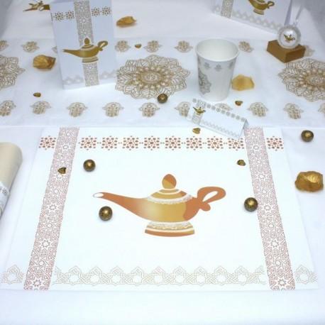 Set de table Lampe d'Aladdin