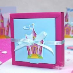 Grande boite à dragées chateau de princesse