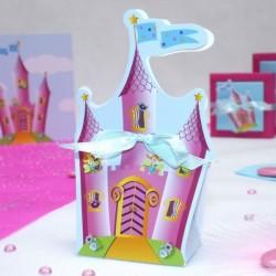 Contenant à dragées Chateau de princesse
