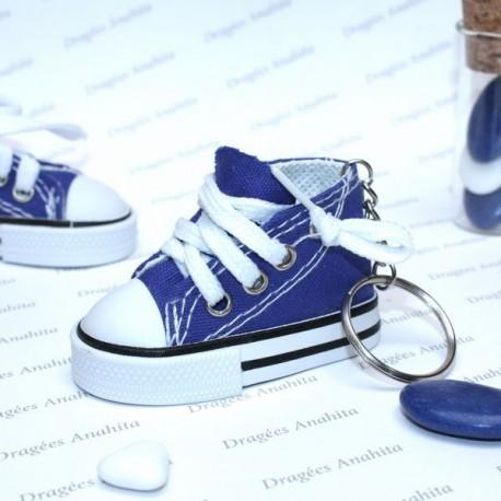 Basket à dragées bleu pour dragées Dragées Anahita
