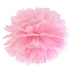 Pompon rose 35 cm