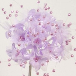 Fleur Perle Lilas