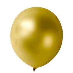 10 ballons Or métalisés