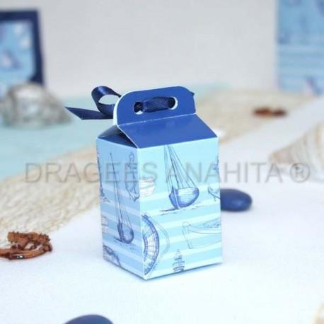 Emballage pour dragées marin