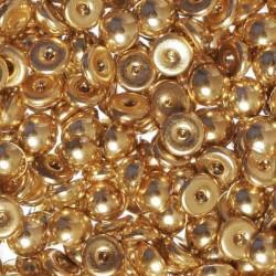 800 Perles de pluie Or