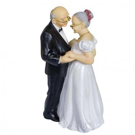 Couple De Vieux Maries Danse