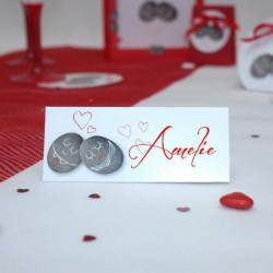 Marque place pour mariage baptême et anniversaire - Dragées ...