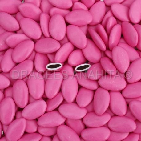 Dragées chocolat Fuchsia