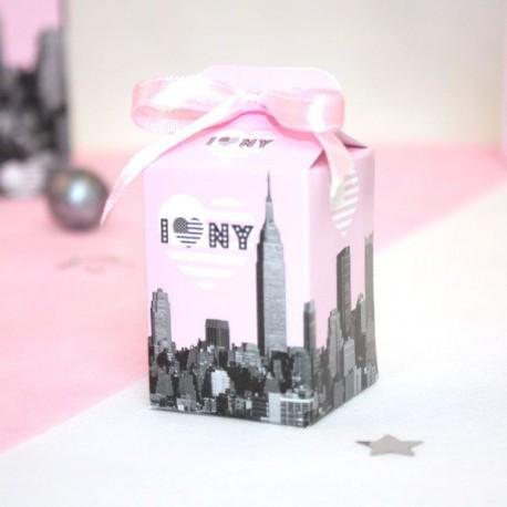 Boite à dragées I Love New York