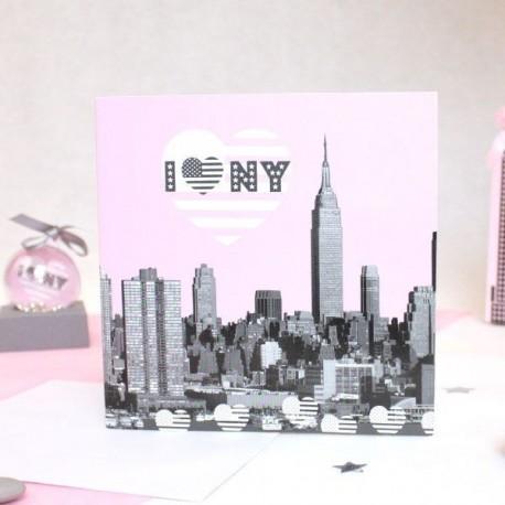 Faire part I Love New York