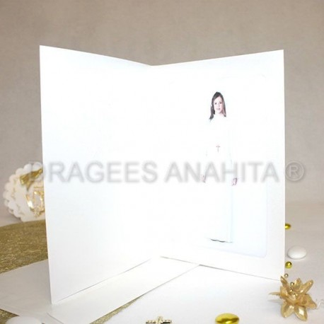 Cadre photo communion + enveloppe