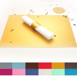 Set de table nacré couleur au choix
