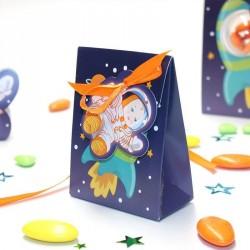 Boîte à dragées petit cosmonaute