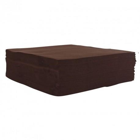 Serviette de Table CHOCOLAT pas cher