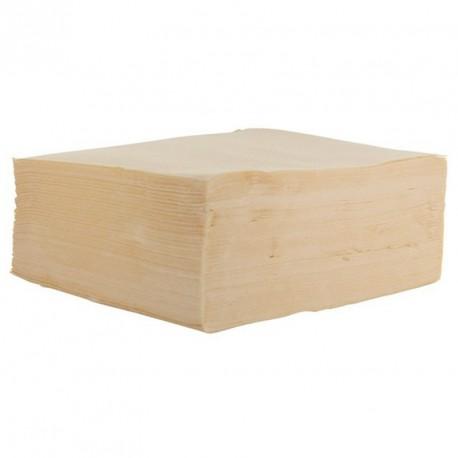 Serviette de table ivoire pas cher
