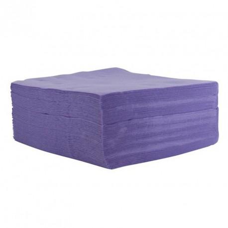 Serviette de table lilas pas cher