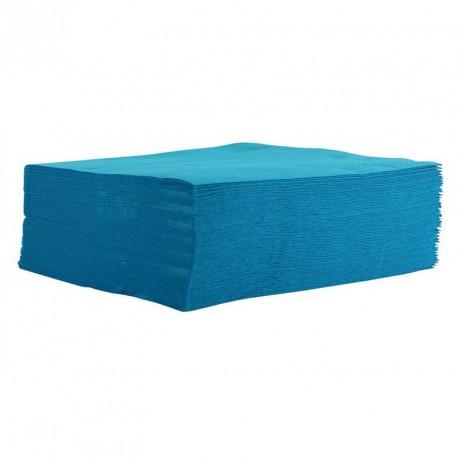Serviette de table turquoise pas cher