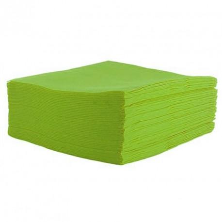 Serviette de table verte pas cher