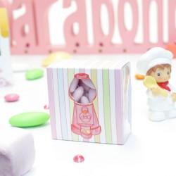 Boîte à dragées candy bar distributeur bonbons
