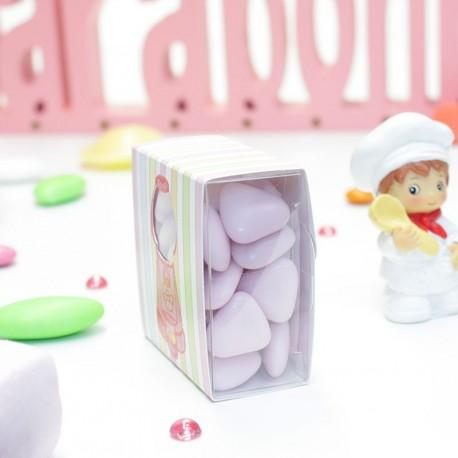 Boîte à dragées candy bar distributeur bonbons pas cher