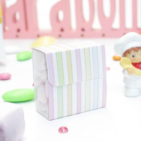 Boîte à dragées distributeur bonbons
