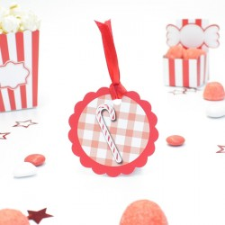 Etiquette sucre d'orges candy bar
