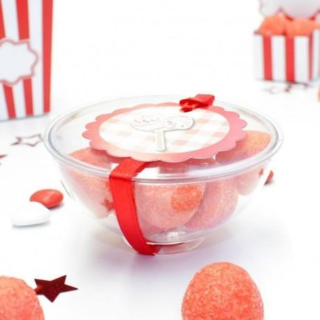Coupelle verrine ou Candy bar transparent