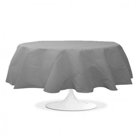 nappe ronde mariage argent