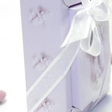 Boîte à dragées carré ange rêveur