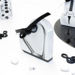 Boite à dragées Harpe mariage musique