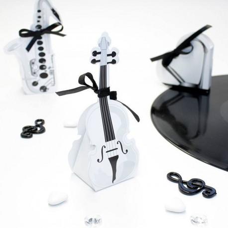 Contenant dragées violon