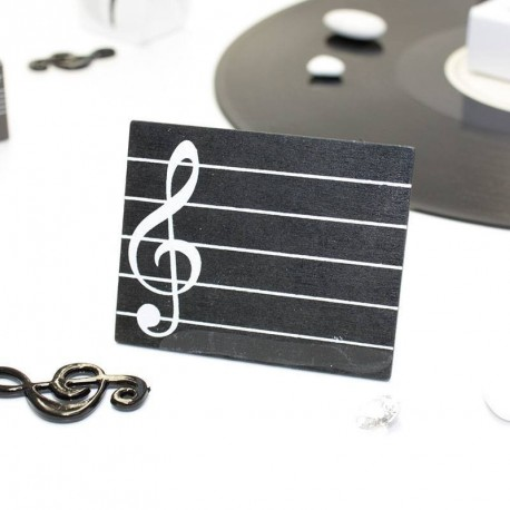 Marque place mariage musique noir