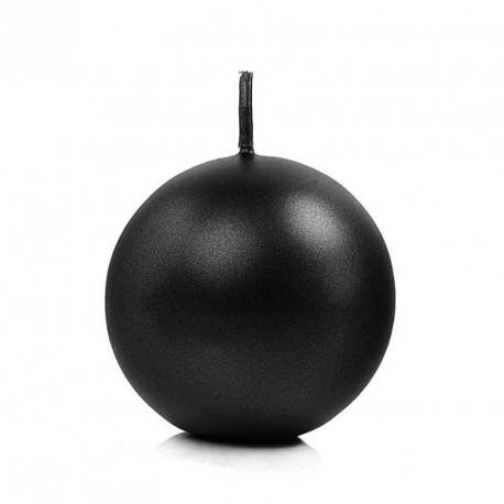 Bougie boule noir 6cm