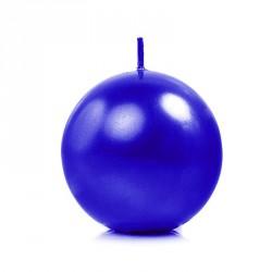 Bougie boule marine 6cm