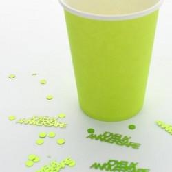 Confettis de table Joyeux Anniversaire Vert
